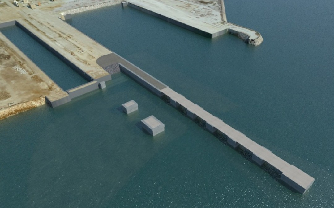 "Tender of the ""Project of prolongation of the North Quay in the basin of Campamento, San Roque (Algeciras)"""