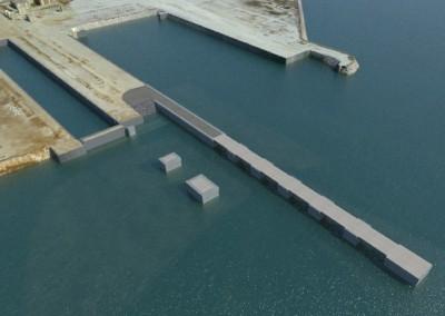 Licitación del proyecto de prolongación del muelle Norte de la dársena interior de Campamento, T.M. San Roque (Algeciras)