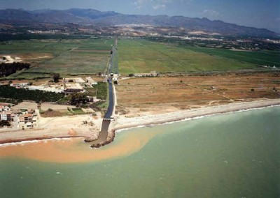 Study of alternatives about the actions in the coastal zone of Almenara (Castellón)