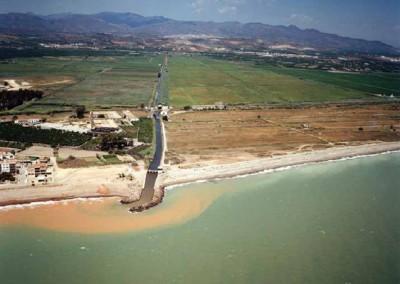 Estudio de Alternativas de actuación en el frente litoral de Almenara (Castellón)