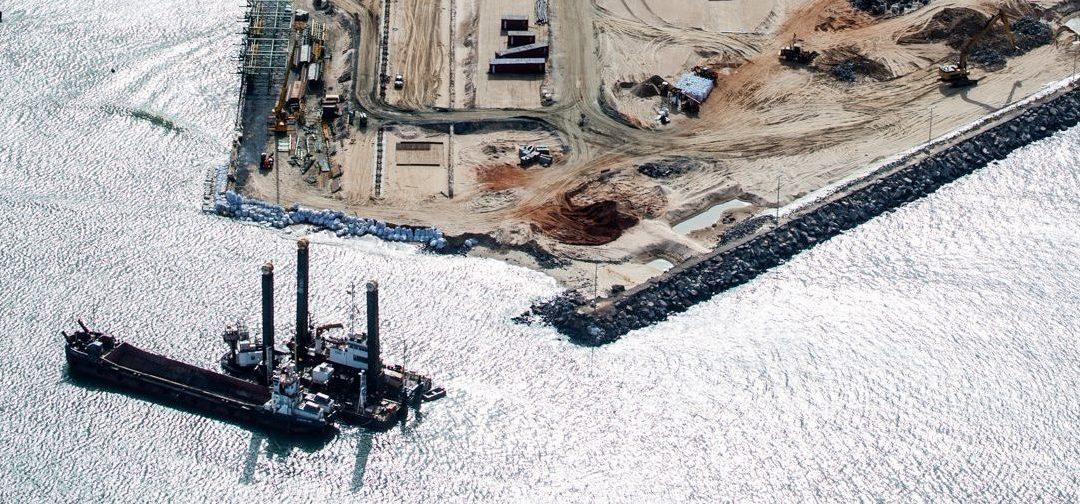 Asistencia Técnica en la construcción de la Lomé Container Terminal, Port of Lomé (Togo)