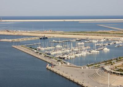 Proyecto Básico de adecuación de nuevo uso en el Muelle-Dique y Pantalán 1 de la Marina Real Juan Carlos I, Puerto de Valencia