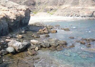 Project of the extension/creation of the beach and licence of its services in the Medio Almud ravine and Los Frailes ravine, Mogán (Gran Canaria)