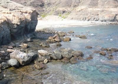 Proyectos de ampliación/creación de playa y concesión de sus servicios en los barrancos de Medio Almud y Los Frailes, T.M. Mogán (Gran Canaria)