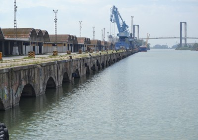 Proyecto Constructivo de rehabilitación del muelle de Tablada, Puerto de Sevilla