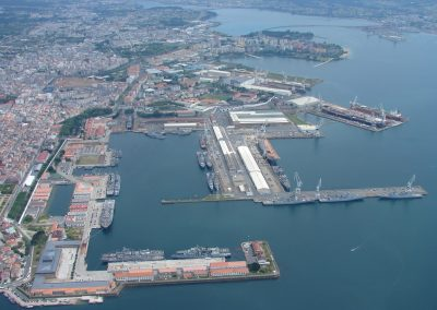 Determining of the land valuation in the service zone of the Port Autority of Ferrol-San Cibrao (2007)