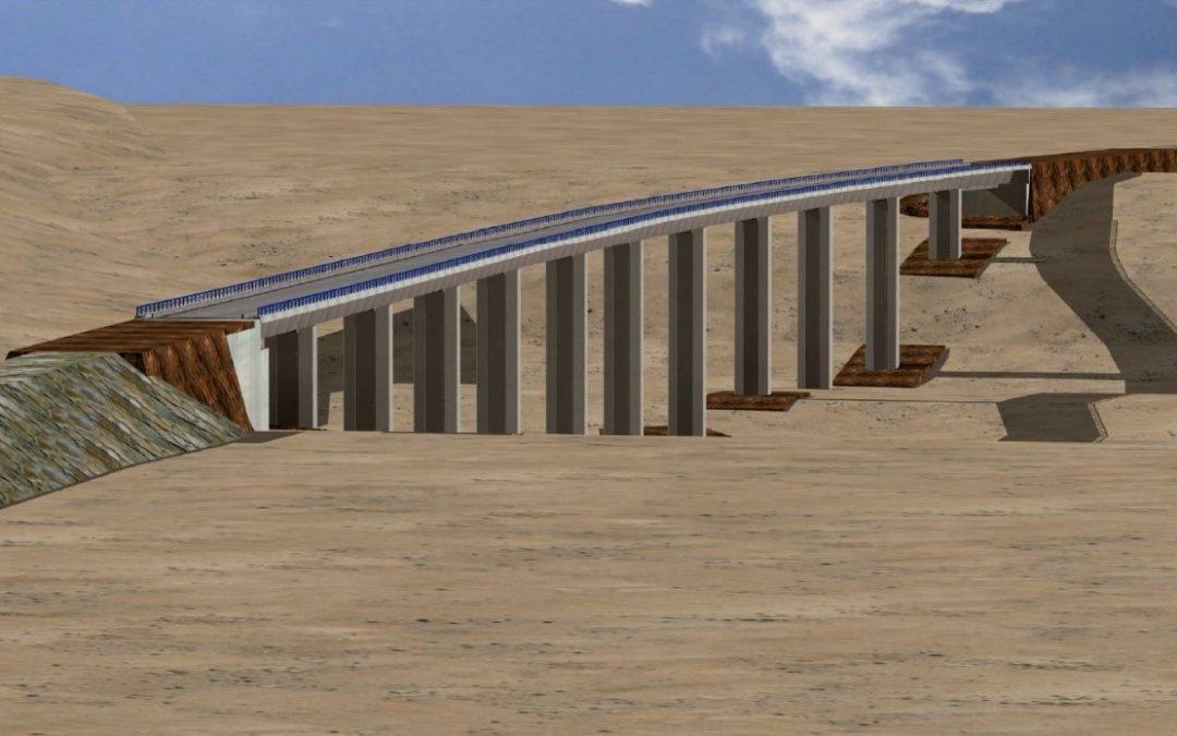"Construction project of the platform of the high velocity line ""Antequera-Granada"". Stretch: ""Quejigares-Variante de Loja"" (2012)"