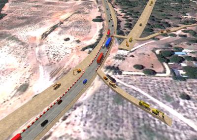 Variante de las poblaciones de Beas y Trigueros en la carretera N-435, del P.K. 205,8 al 218,8 (2011)